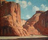 "Edgar Payne ""Canyon de Chelly"""
