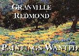 Granville Redmond Paintings Wanted!