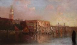 """Venetian Twilight"" by Mary C. Patten"