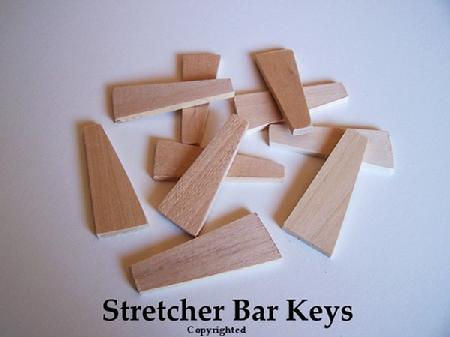 Canvas Keys - Stretcher Bar Corner Tightening Wedges