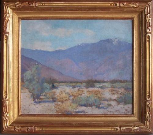 "Alson Clark ""Mountain View, 1924"" 18.5 x 22 inches, oil on canvas. AVAILABLE"